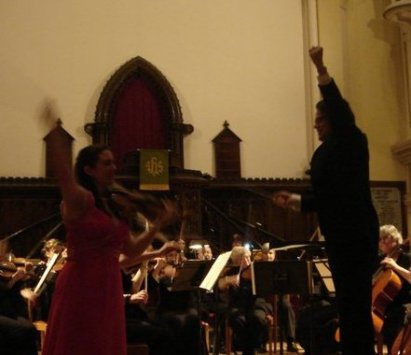 Brahms Concerto with Nova Sinfonia, conducted by Martin MacDonald