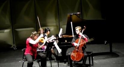 Trio Benterria in action, Scotia Festival of Music, 2012