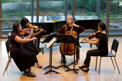 String Quartet at Mixon Hall, CIM (2012)