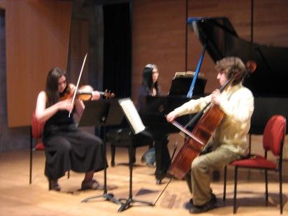 Trio Benterria rehearses at the Music Room in Halifax, NS.