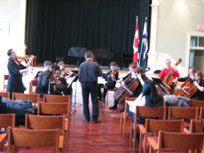 Bach E major concerto with the Dal Chamber Orchestra